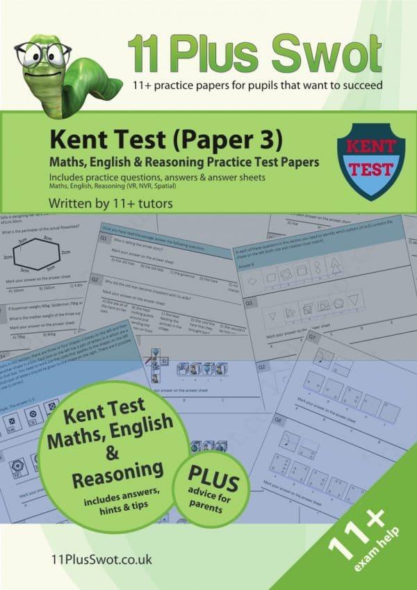 Kent Test 11Plus Paper 3