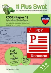 CSSE Paper 1 Download