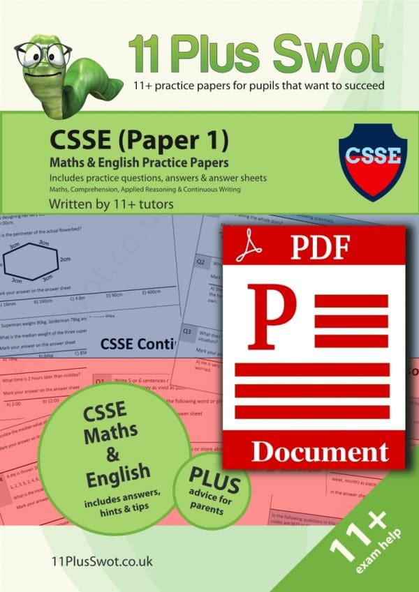 CSSE Paper 1 Download
