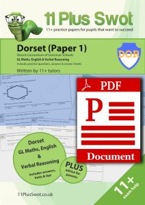 PDF -Dorset Consortium of Grammar Schools-Test 1-Download