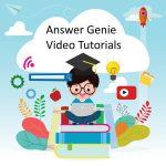 Answer Genie Video Tutorials