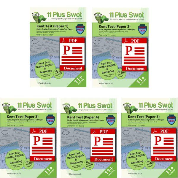 Kent Test PDF Download Bundle