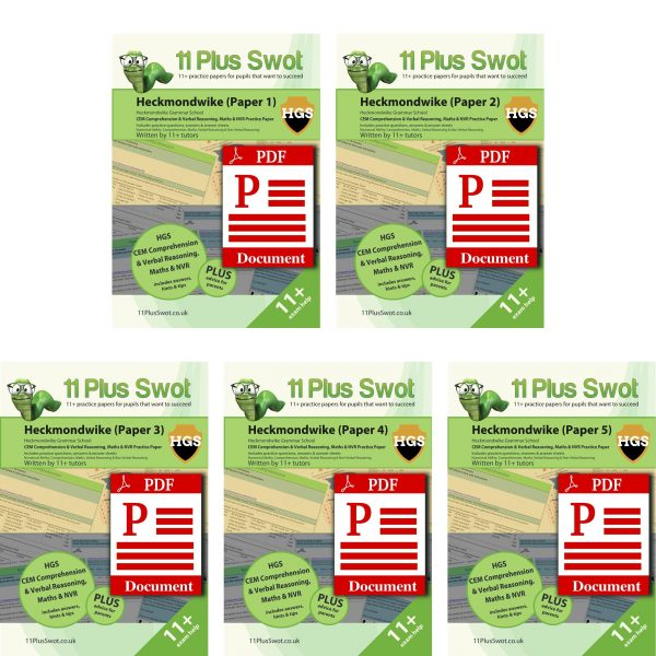 Heckmondwike Grammar-Download-BundlePack